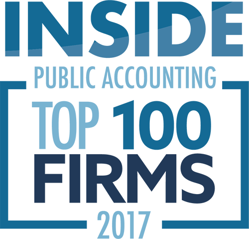 Inside Public Accounting top 100 Firms 2017