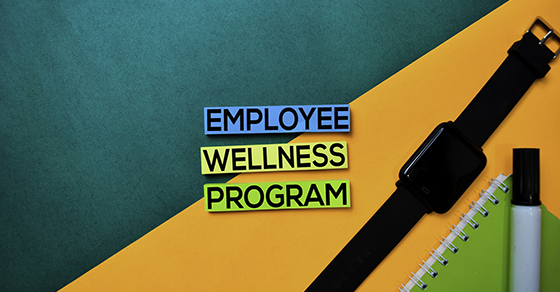 Employee Wellness Program and fitness smartwatch