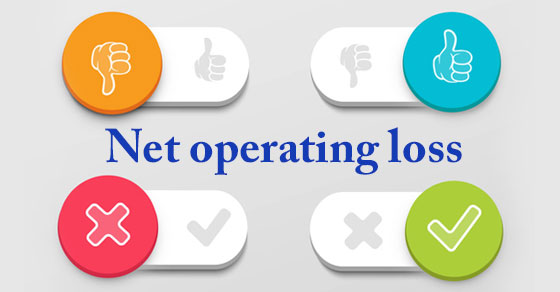 Illustration of the word NET OPERATING LOSS