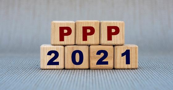 PPP 2021 in wooden blocks