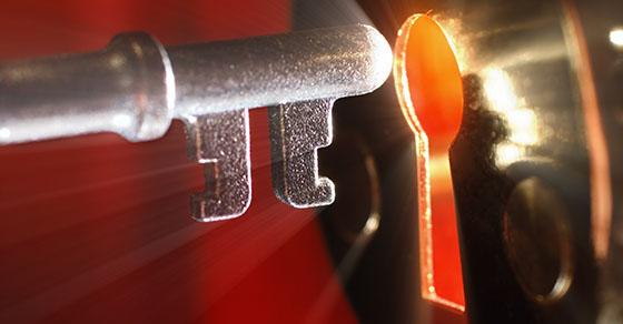 Key and key hole