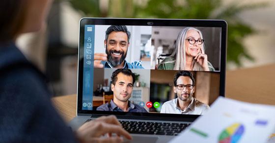 Online meeting group