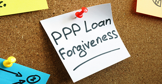 PPP Loan Forgiveness on a note